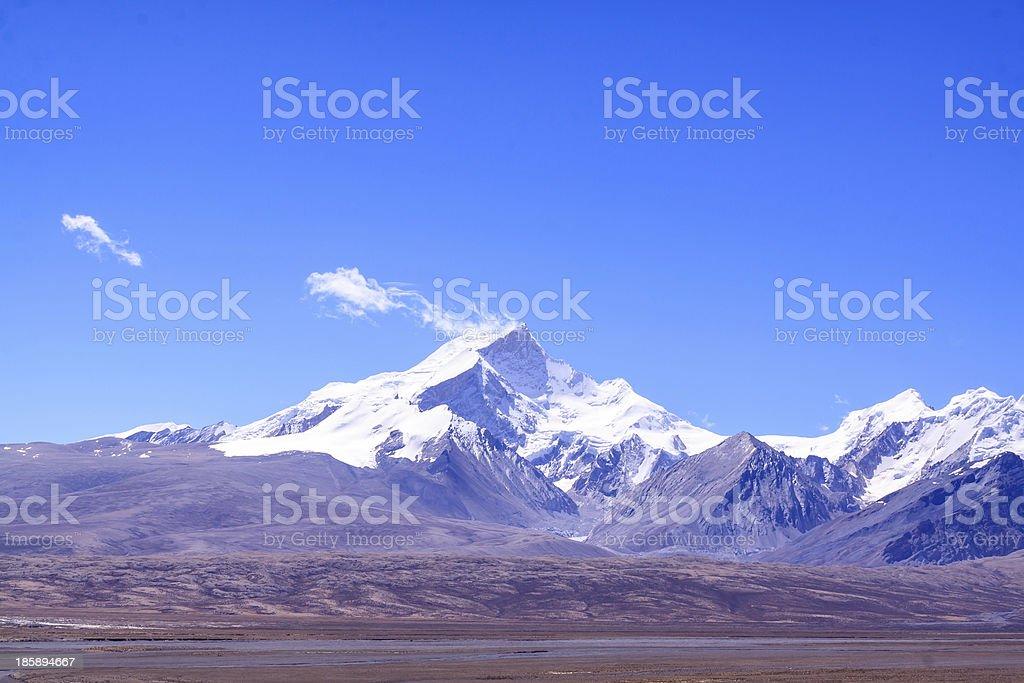 Mountain rangre royalty-free stock photo