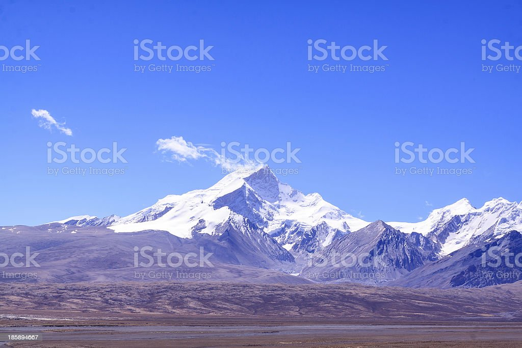 Mountain rangre stock photo