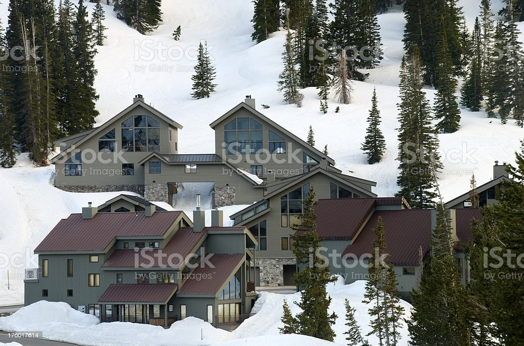 mountain real estate royalty-free stock photo