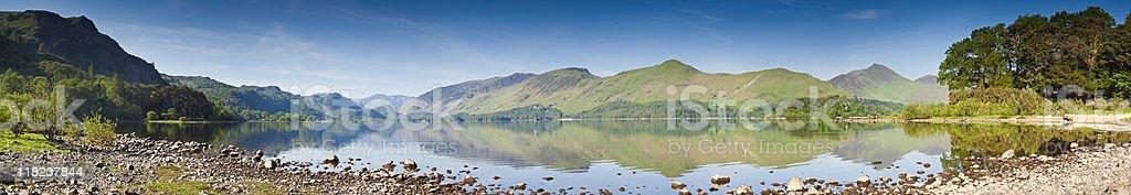 XXXL Mountain reflections royalty-free stock photo