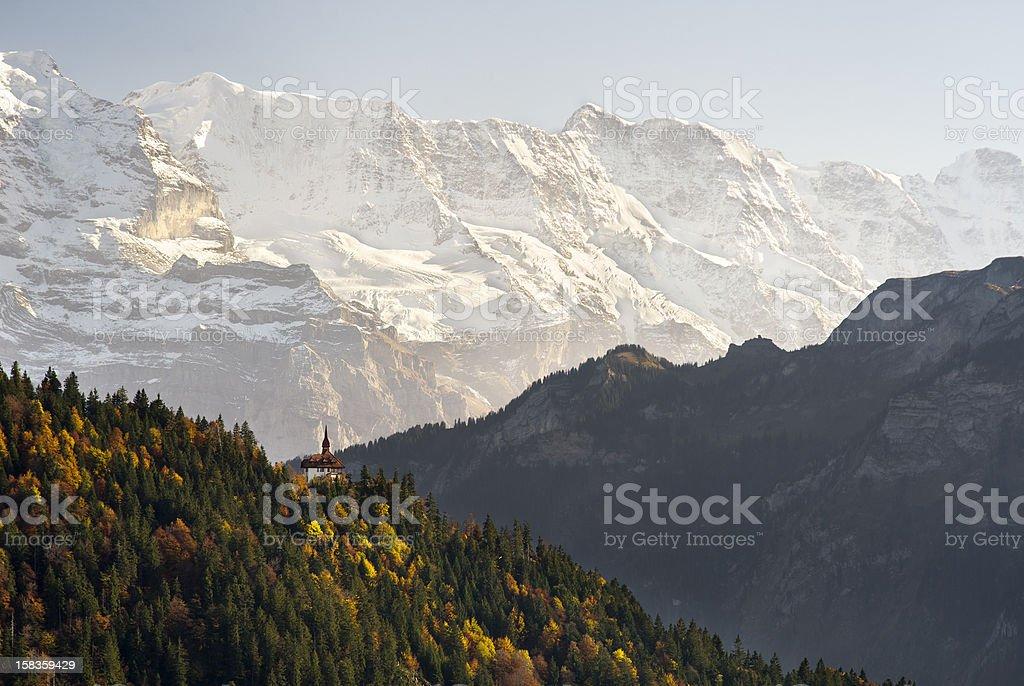 Mountain Residence stock photo