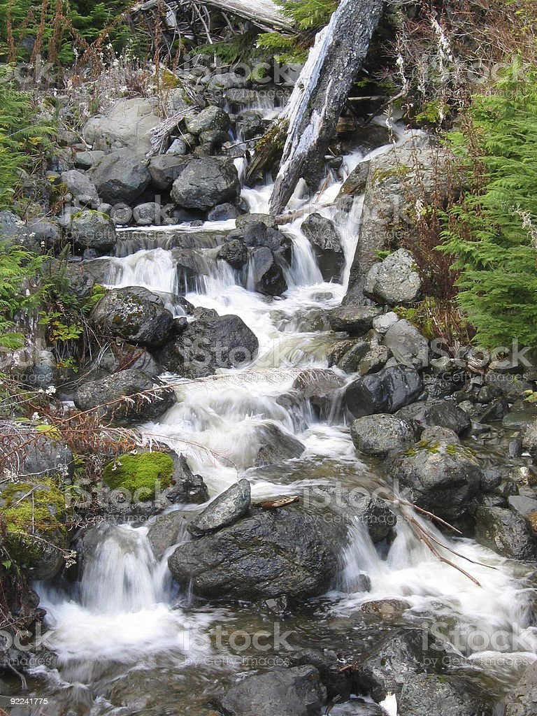 Mountain Ridge Creek royalty-free stock photo