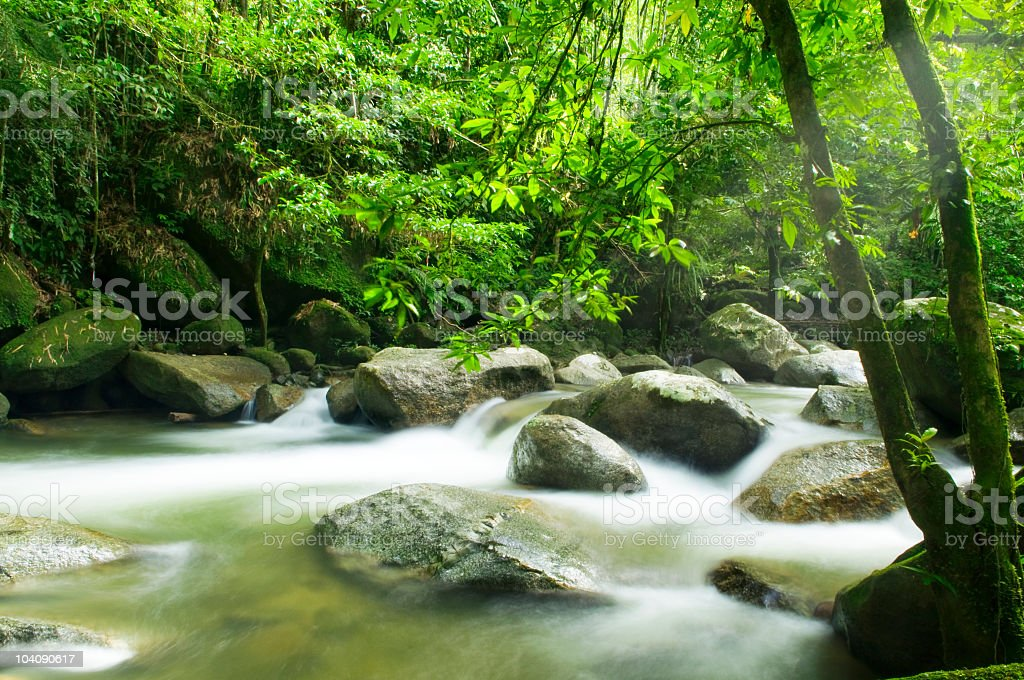 moutain river royalty-free stock photo