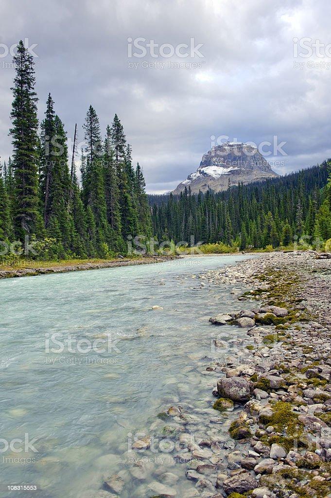 Mountain River royalty-free stock photo