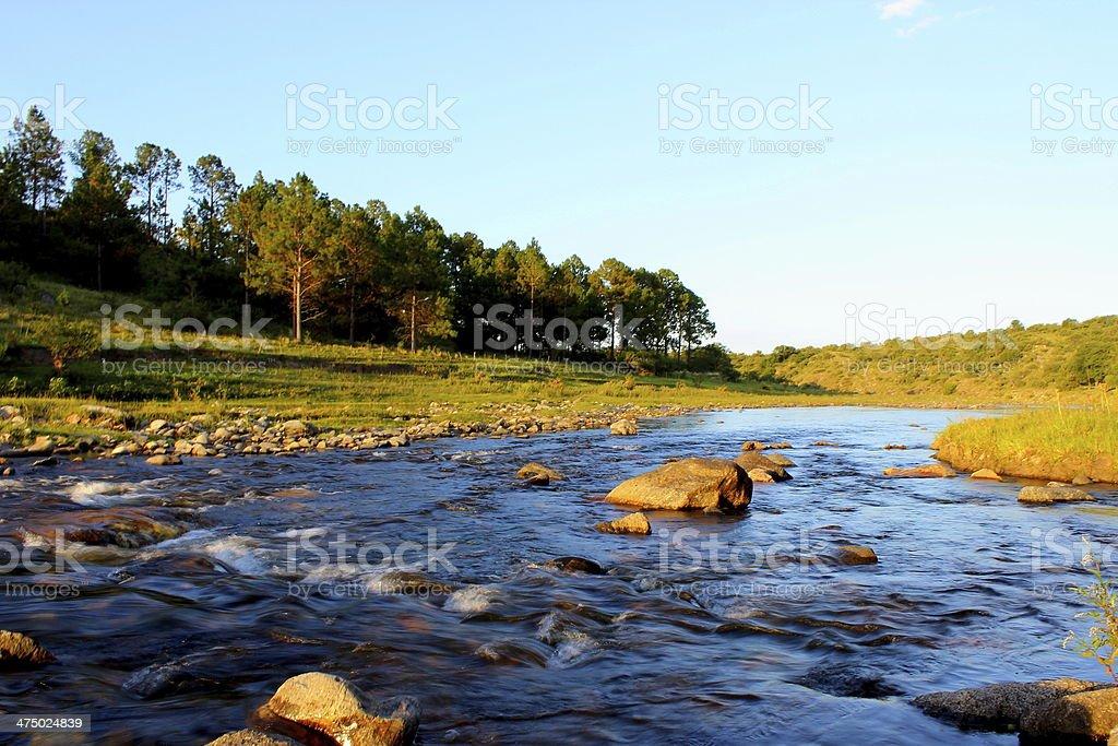 rio de montañas royalty-free stock photo