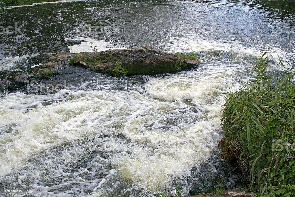 mountain river rapids stock photo