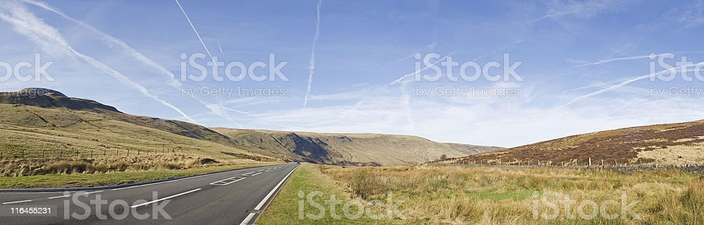 Mountain road. royalty-free stock photo