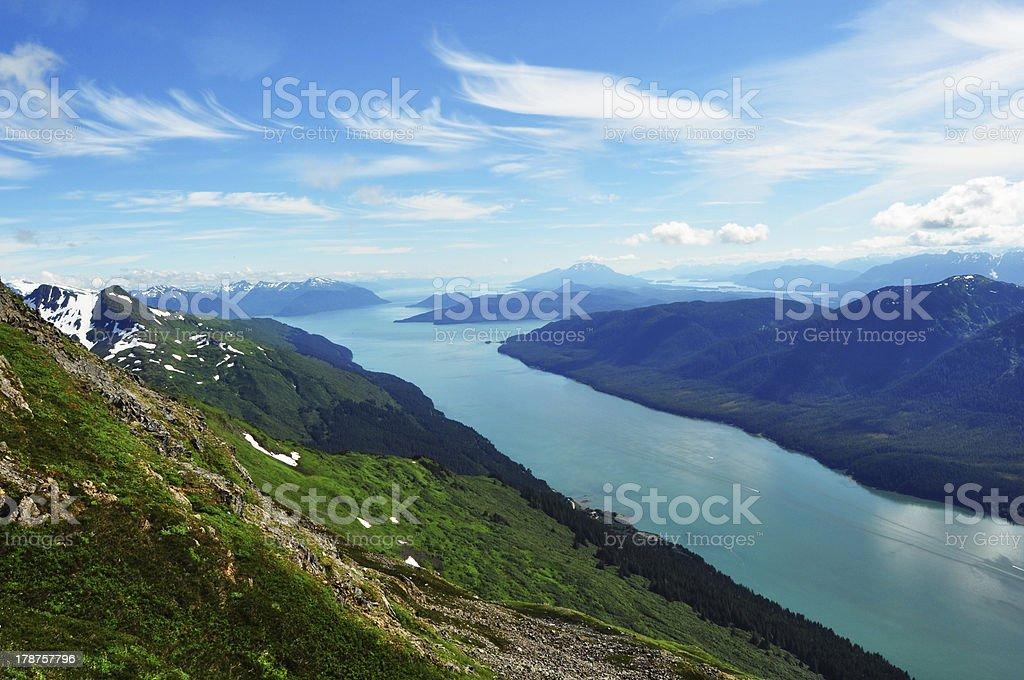 Mountain Roberts Juneau stock photo