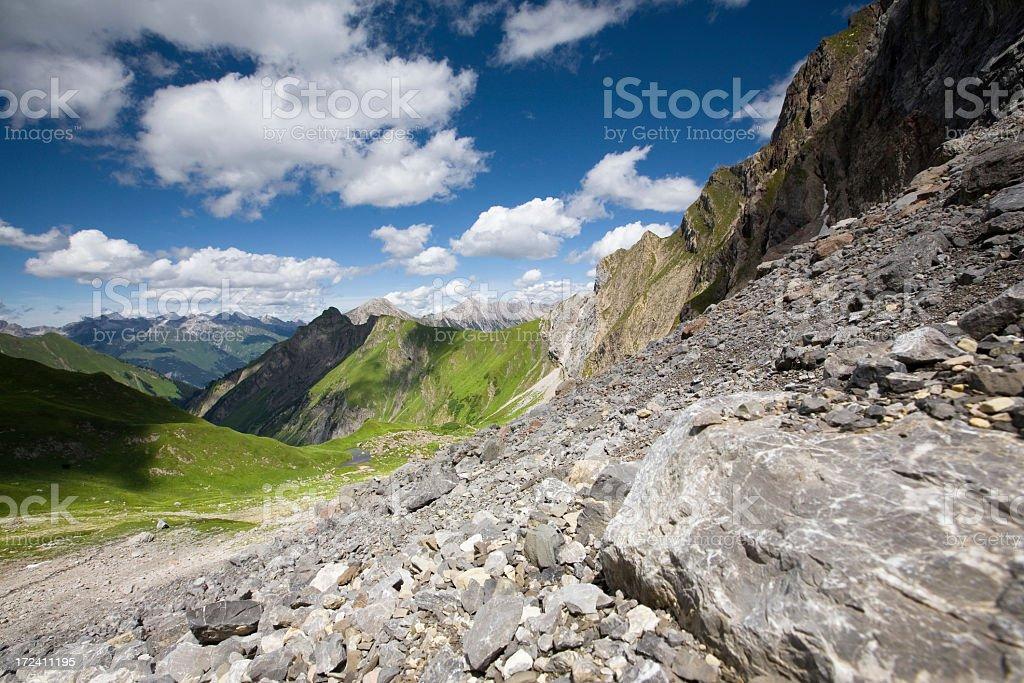 mountain rocks royalty-free stock photo