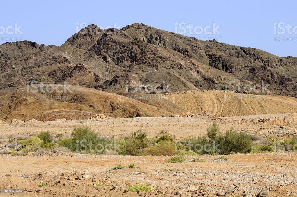 Mountain scenery royalty-free stock photo