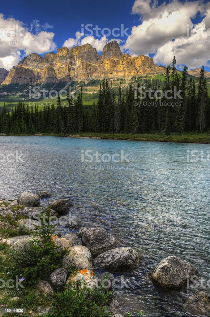 Mountain Scenery royalty-free stock photo