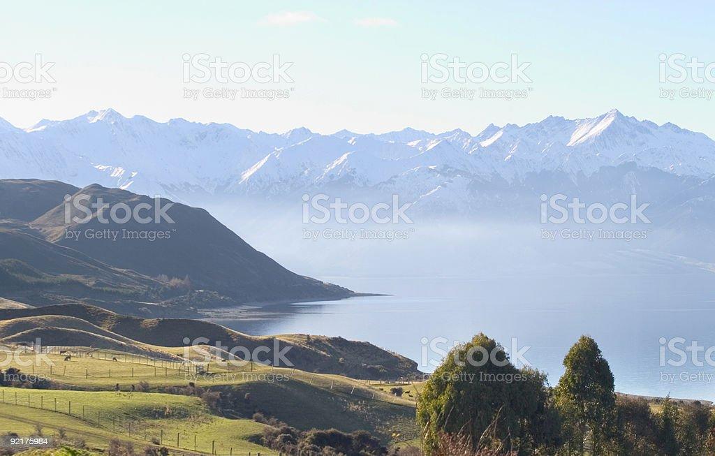 mountain scenic royalty-free stock photo