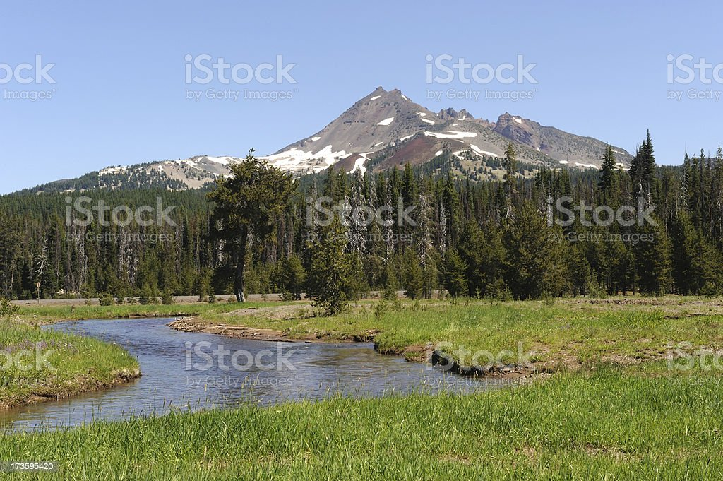 Mountain Scenics stock photo