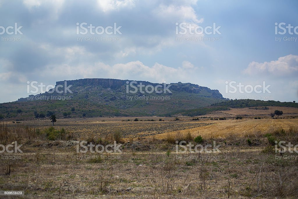 mountain silyon stock photo