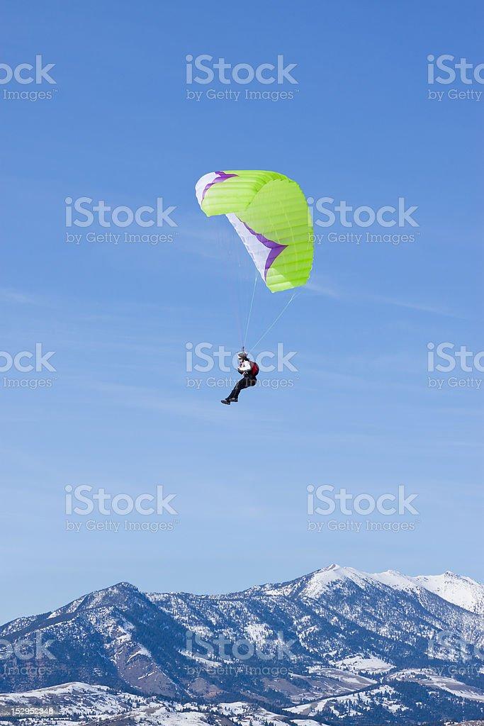 Mountain Soaring royalty-free stock photo
