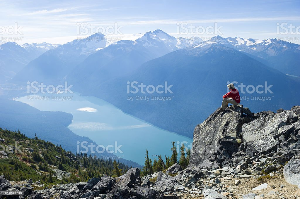 Mountain Solitude stock photo