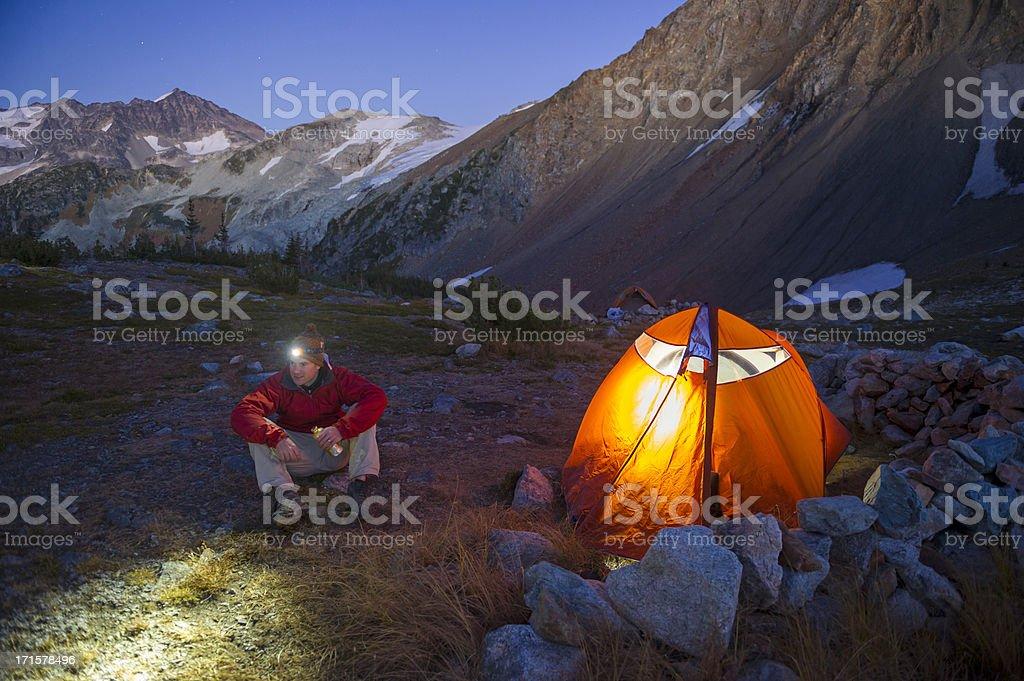 Mountain Solitude stock photo