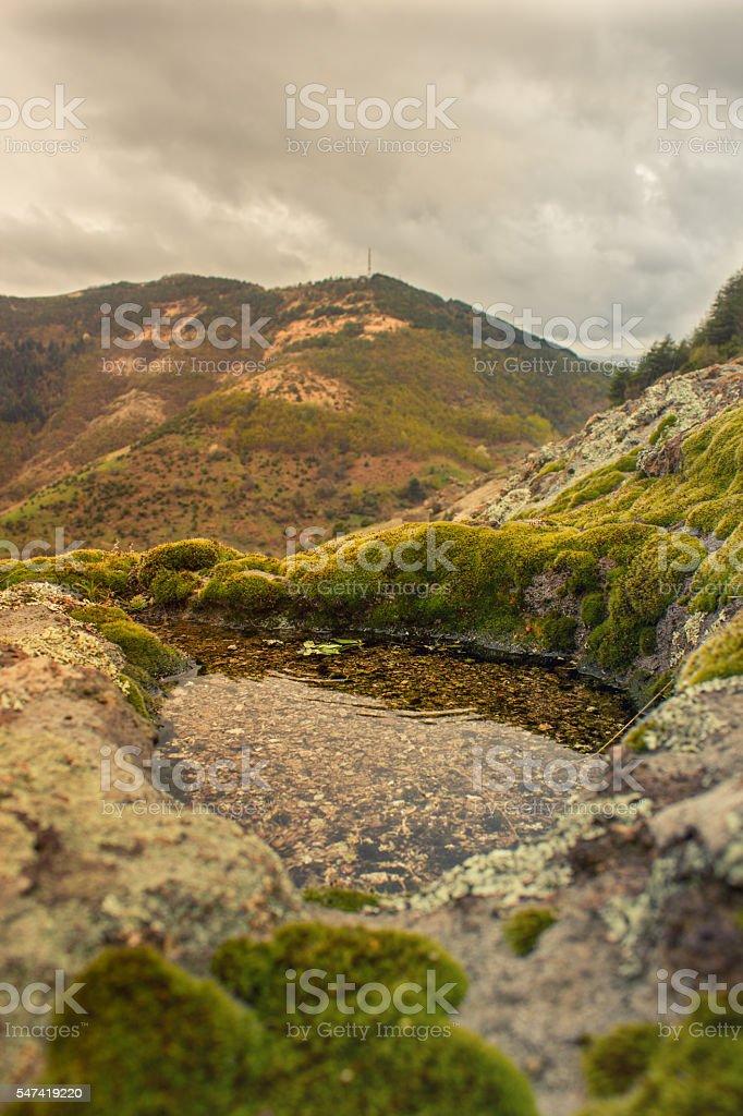 mountain spring - istock image stock photo