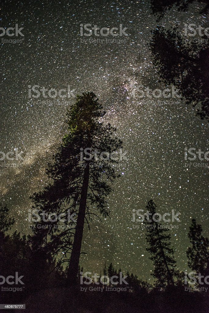 Mountain Stars stock photo