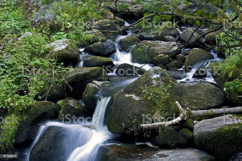 Mountain Stream 2 royalty-free stock photo