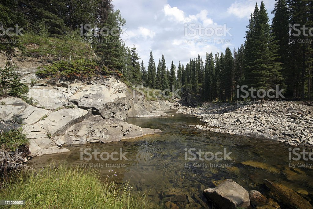 Mountain Stream (Series-two) royalty-free stock photo