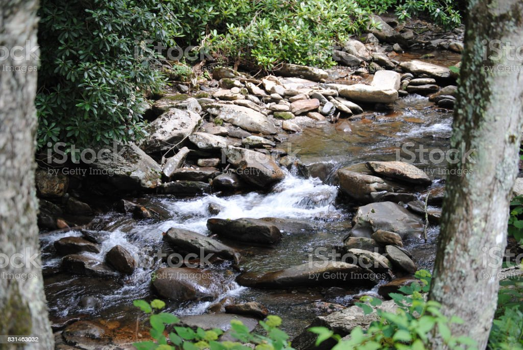 A Mountain Stream stock photo