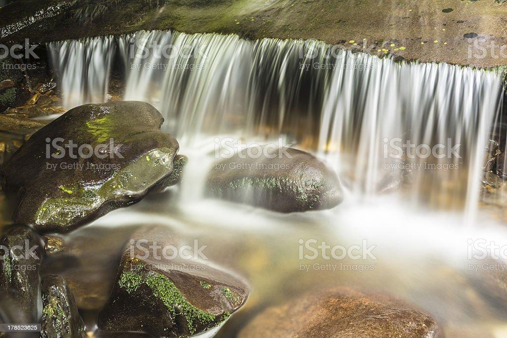 Mountain Stream Waterfall royalty-free stock photo