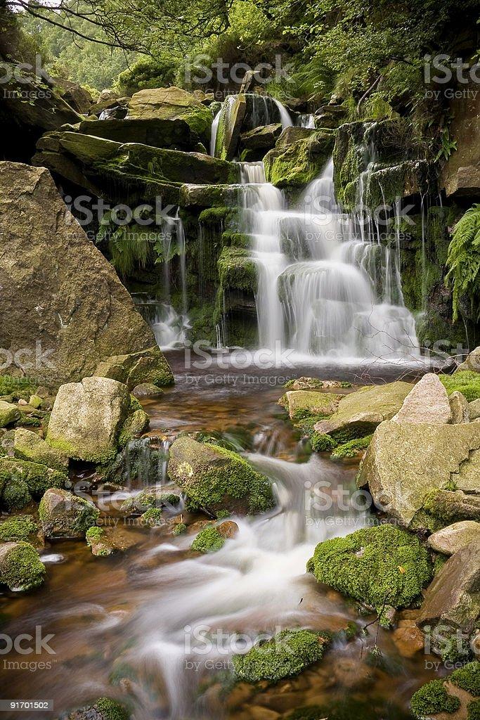 Горный ручей Водопад Стоковые фото Стоковая фотография