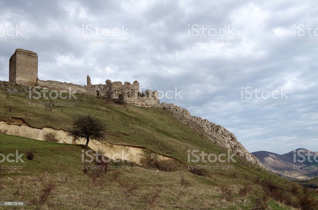 Mountain Stronghold stock photo