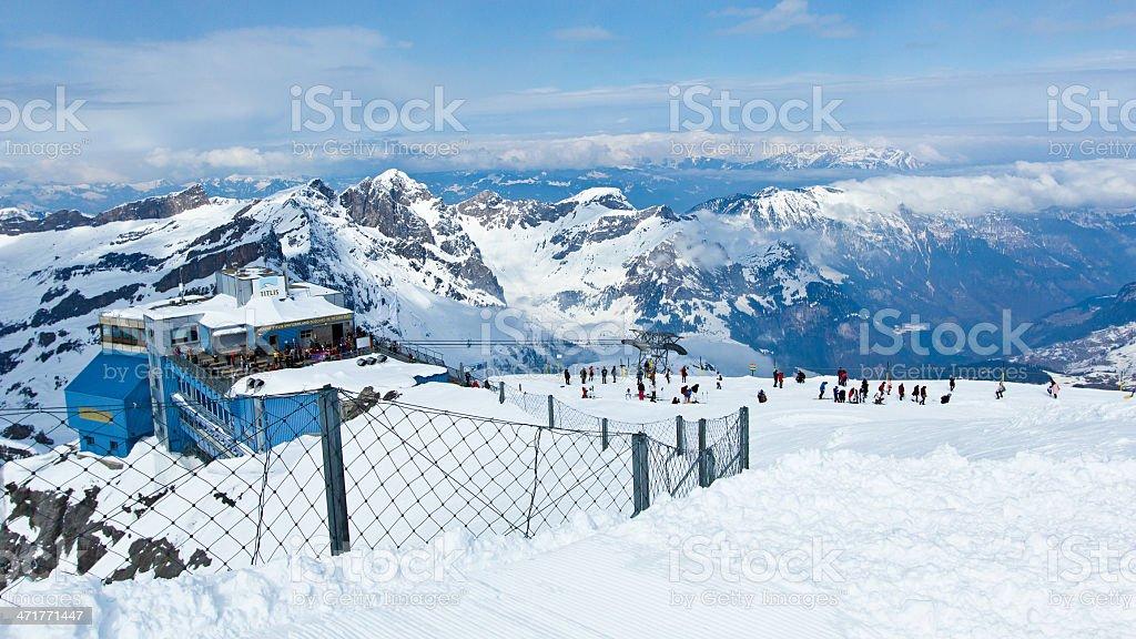 Mountain Titlis royalty-free stock photo