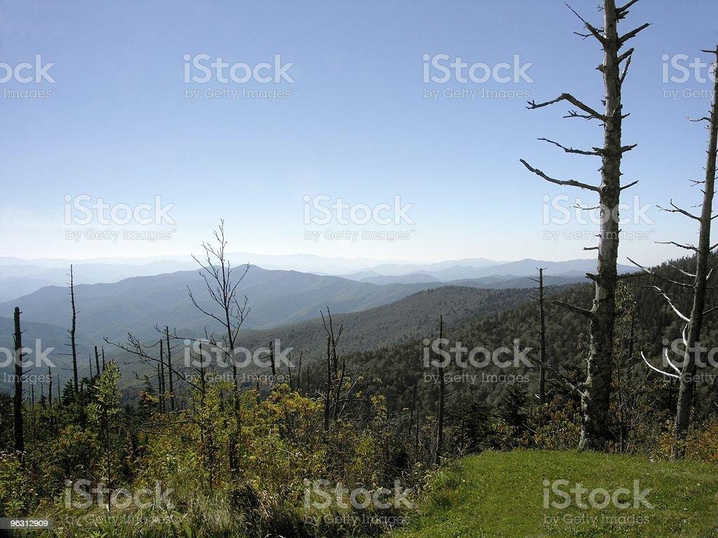 Mountain Top Autumn royalty-free stock photo