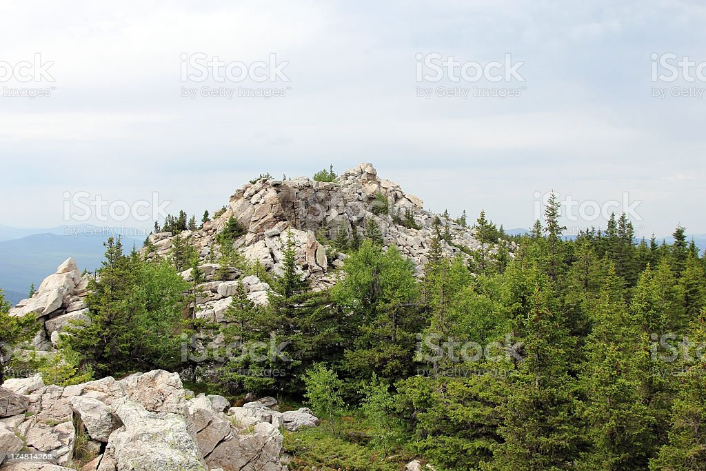 Mountain top royalty-free stock photo