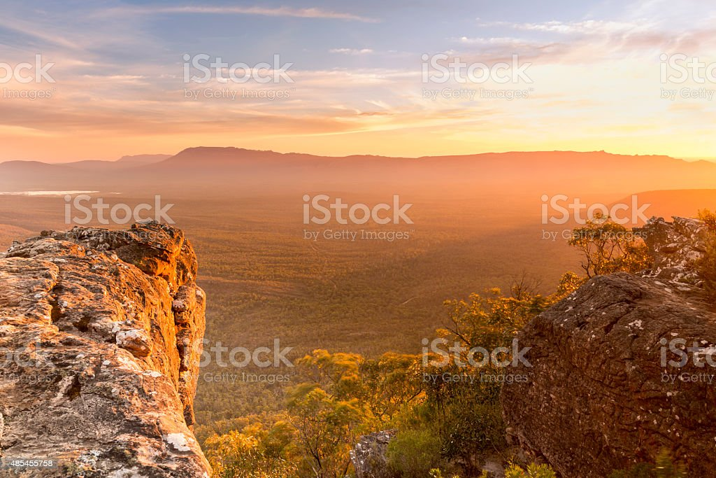 Mountain Top stock photo