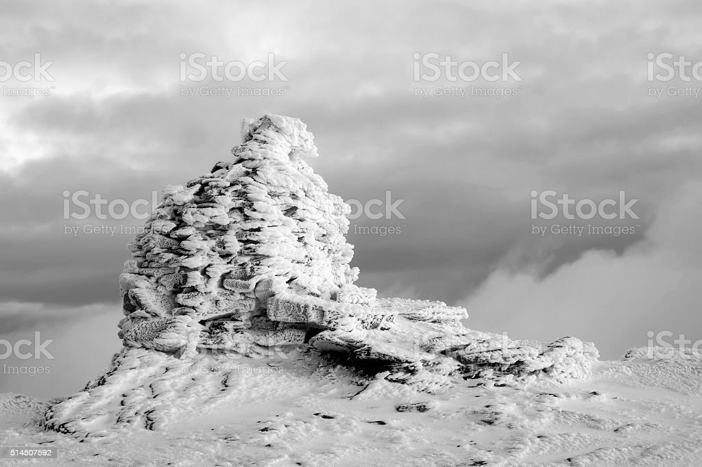 Mountain top photo libre de droits