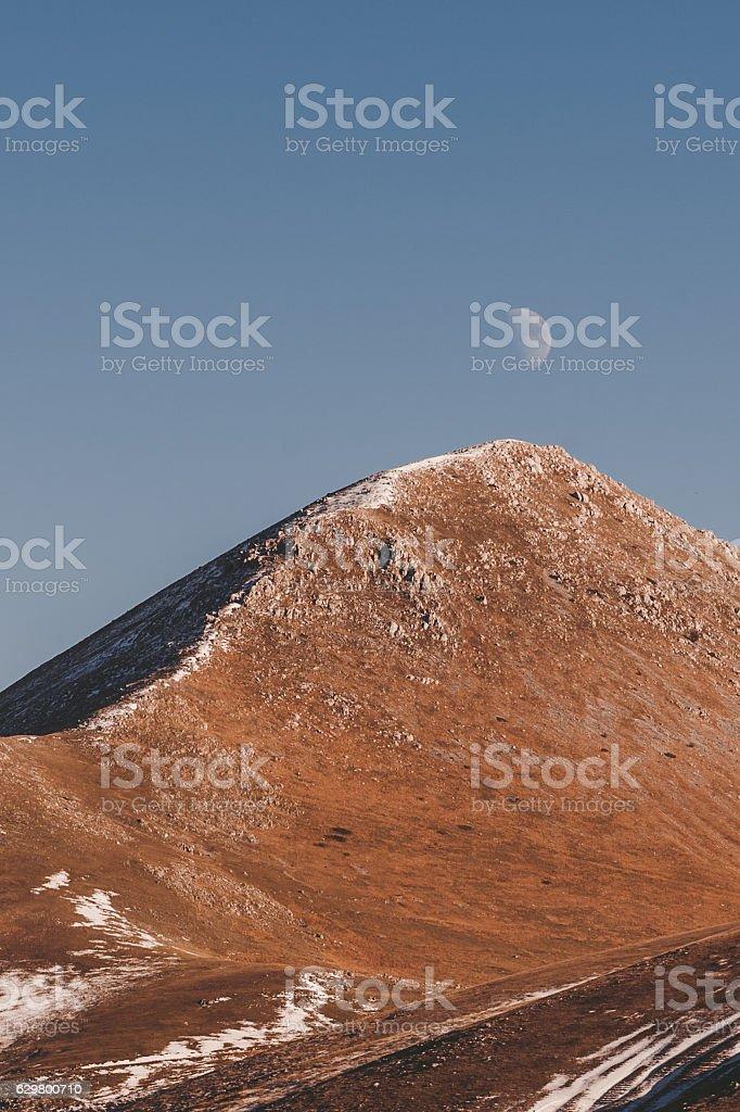 Mountain travel stock photo
