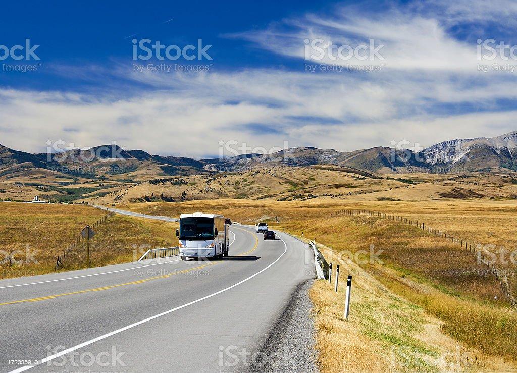 Mountain trip royalty-free stock photo