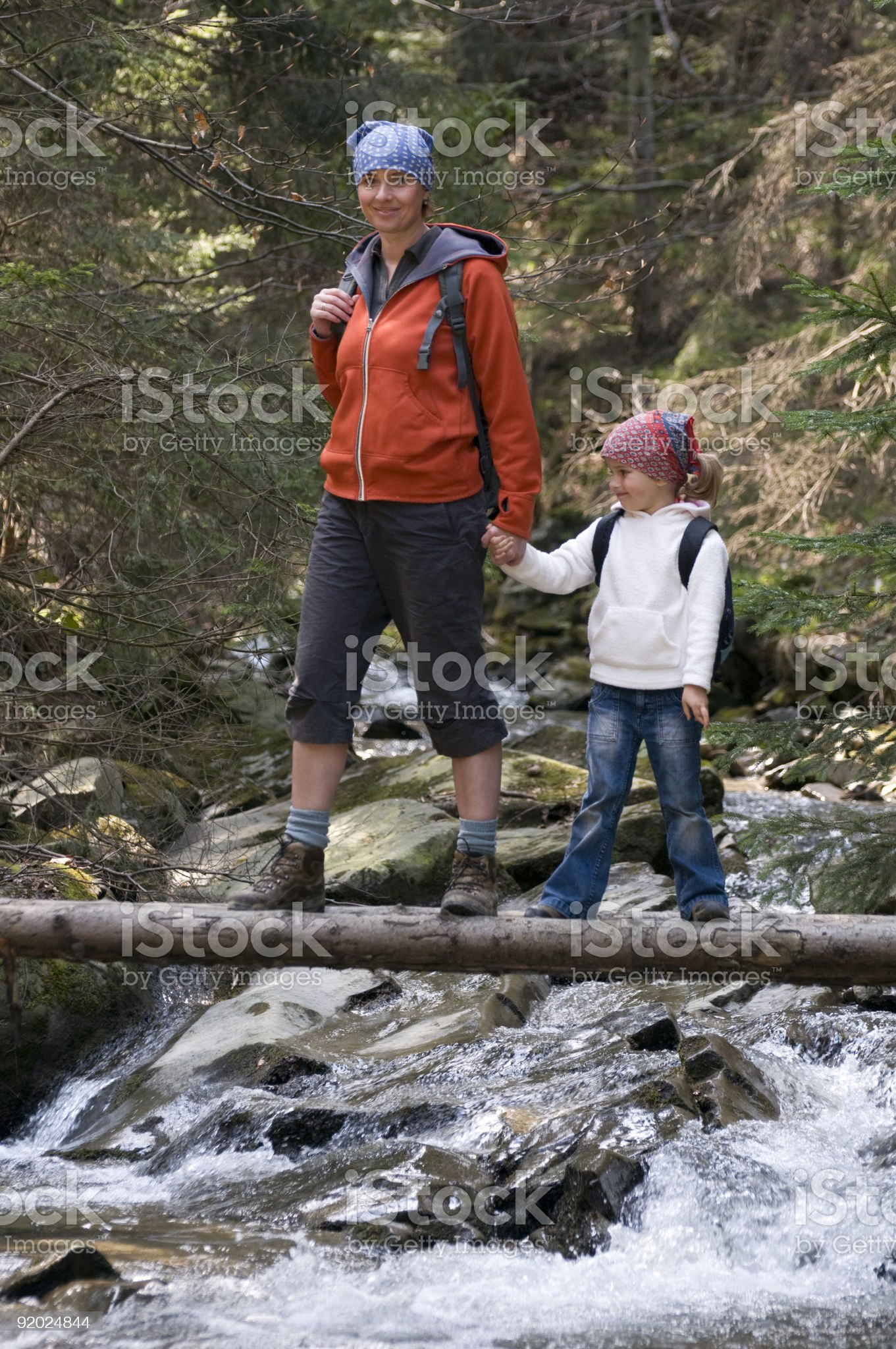 Mountain trip royalty-free stock photo