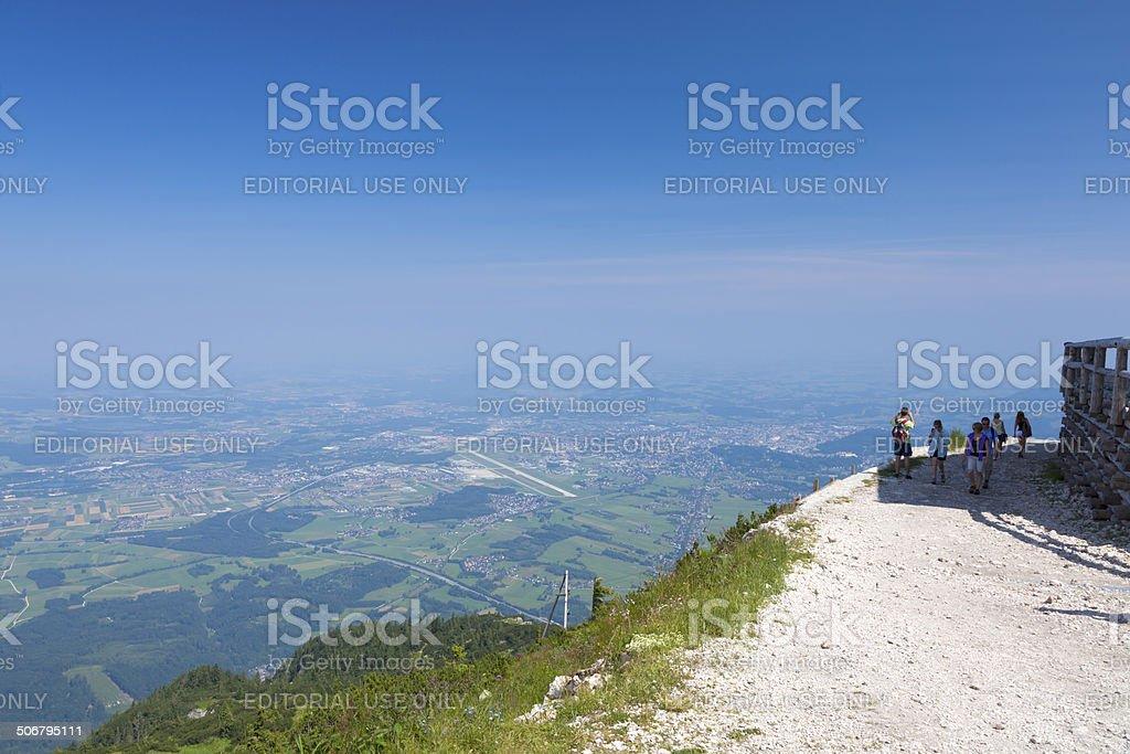 Mountain Untersberg, Austria royalty-free stock photo