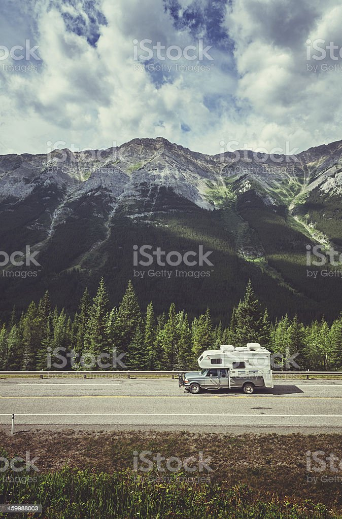 Mountain Vacation stock photo