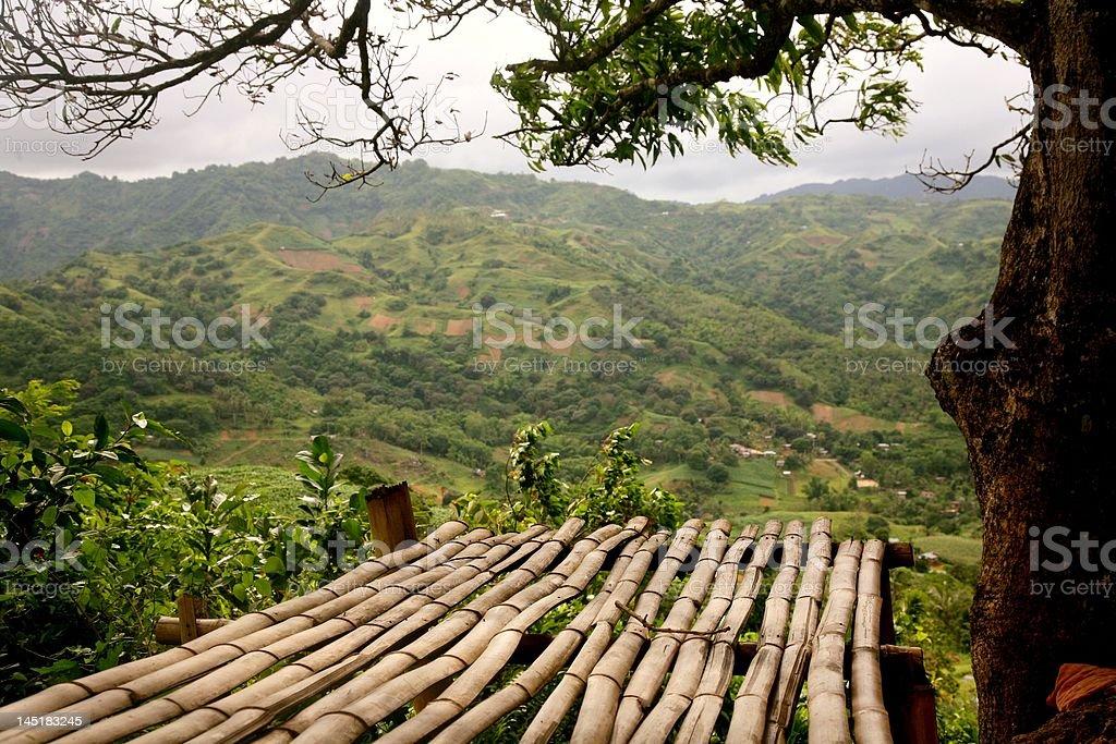 Mountain valley Lizenzfreies stock-foto