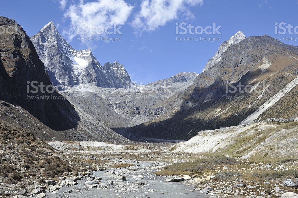 Mountain Valley royalty-free stock photo