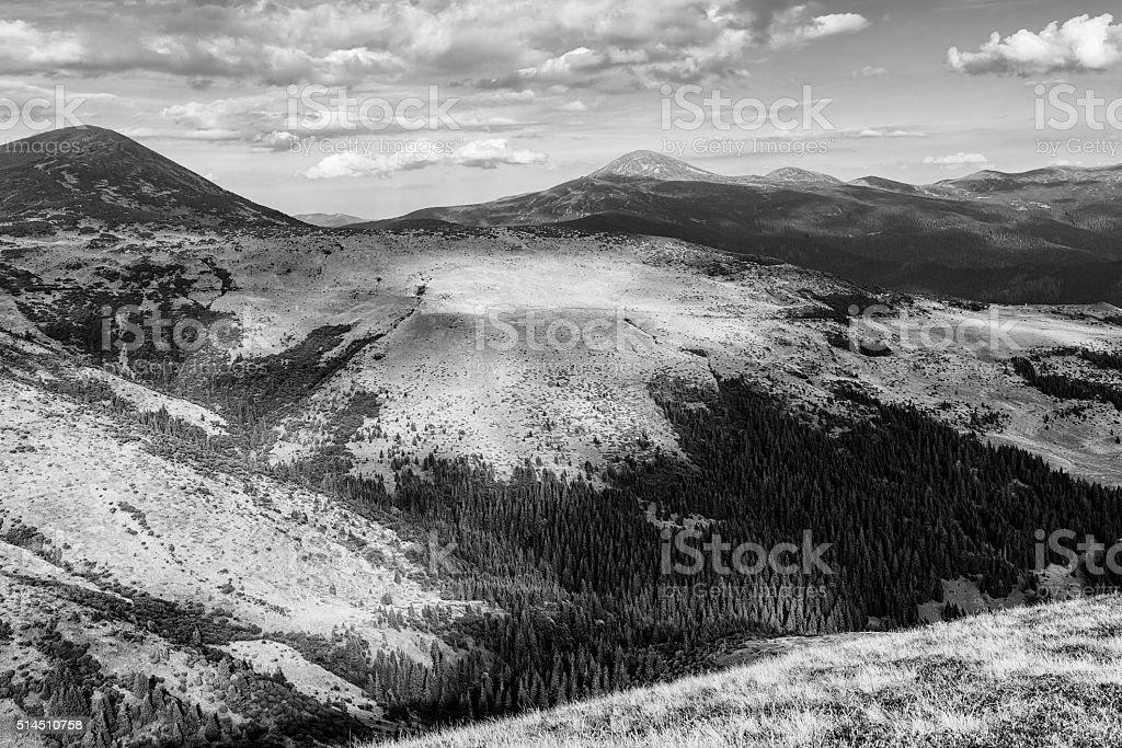 Mountain valley photo libre de droits