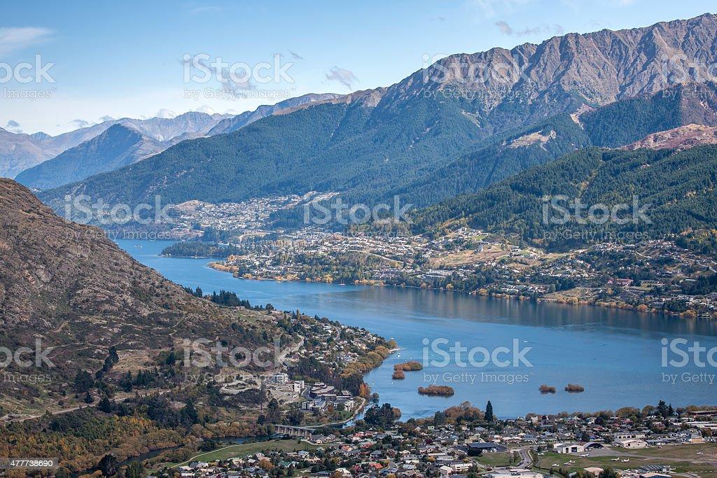 Mountain Veiw stock photo