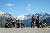 Mountain View Austria touring with motorcycles