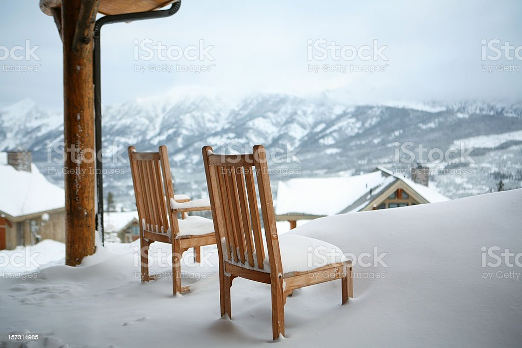 Mountain View Awaits You stock photo