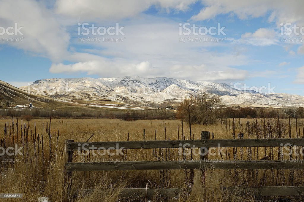 Mountain View royalty-free stock photo