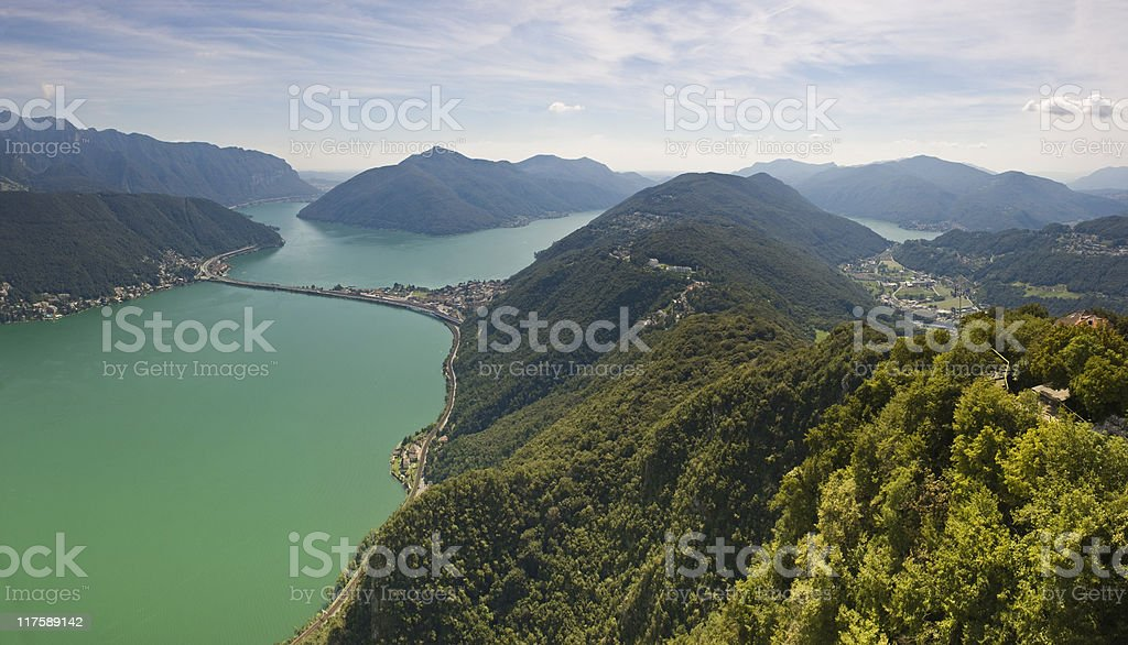 Mountain views. stock photo