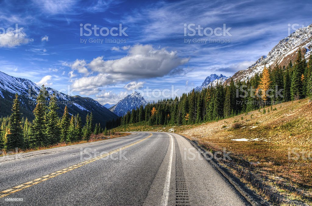 Mountain Views stock photo