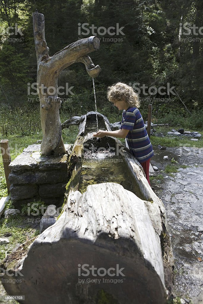 mountain water royalty-free stock photo