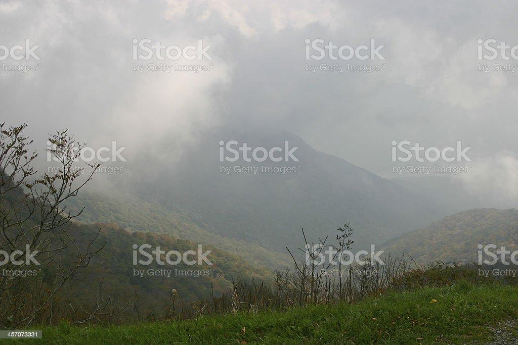 Mountain Weather stock photo